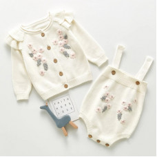 Set with embroidery