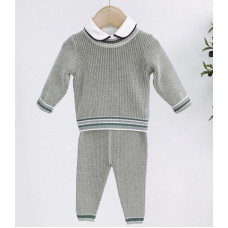 Knitted set for baby boys