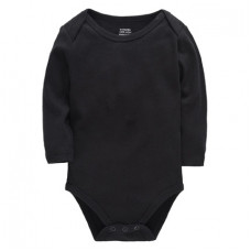 Black bodysuit with long sleeves