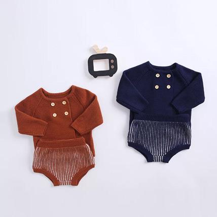Cardigan and shorts set