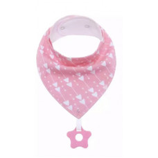 Bib bandana with teether