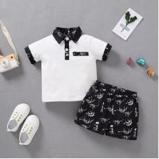 Polo and shorts set