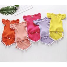 Colorful clothes set