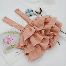 Ruffles skirt on the straps