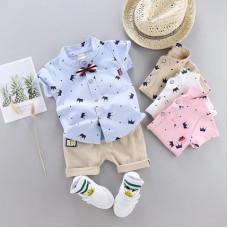 Polo-shirt and shorts set