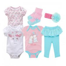 Baby girl 6-piece set