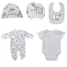 Baby girl 5-piece set