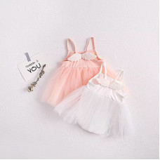 Tutu tulle dress with wings