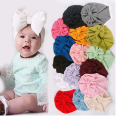Turban with a bow