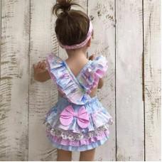 Lilac dressy bodysuit