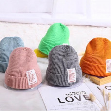 Knitted hat for baby