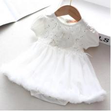 Dressy bodysuit Christina for newborns