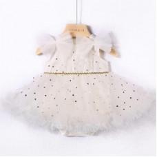 Dressy bodysuit Sofia for newborns