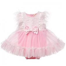 Dressy bodysuit Anna for newborns