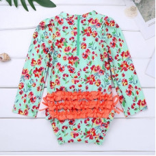 Swimsuit with long sleeves