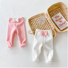 Insulated pants with bows